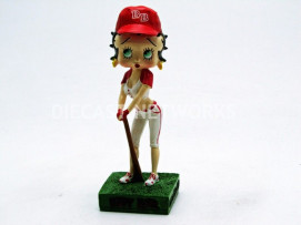 FIGURINES BETTY BOOP - JOUEUSE DE BASEBALL