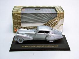 DELAGE D8 120 S POURTOUT AERO COUPE - 1937