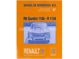 LIVRES RENAULT R8 GORDINI 1100 - R 1134
