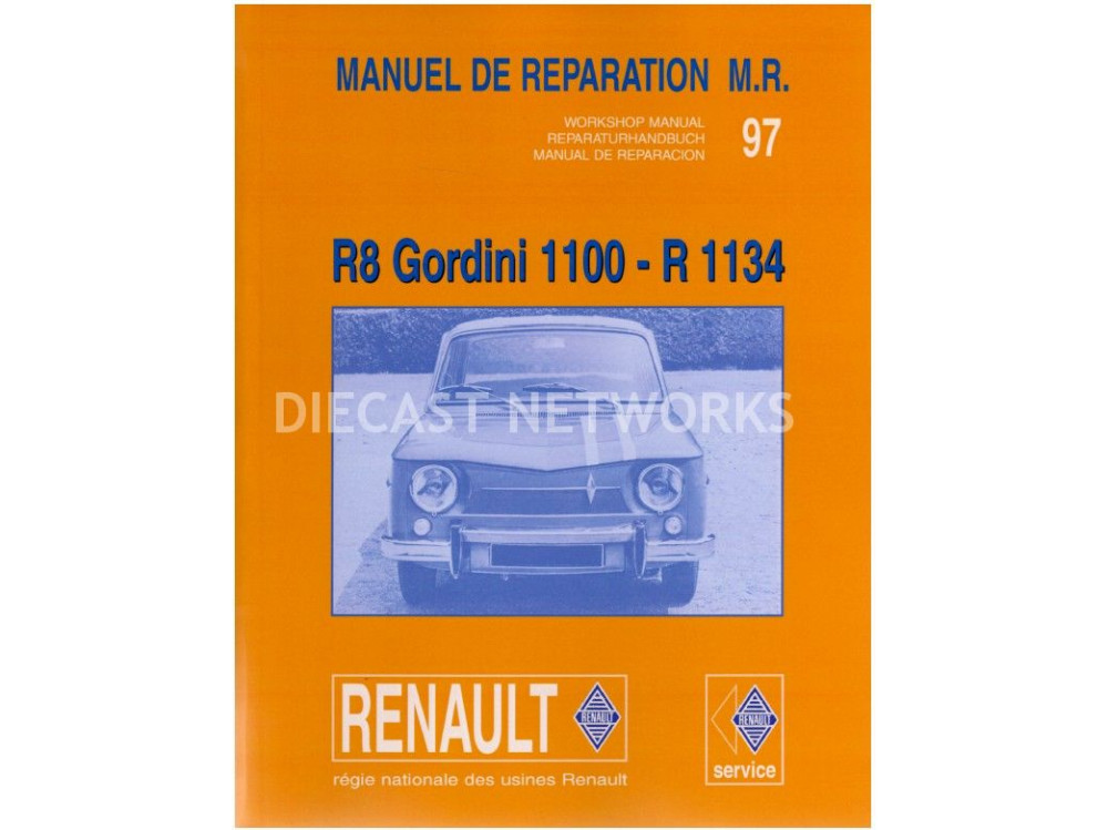 livres renault r8 gordini 1100 r 1134 little bolide rh littlebolide com Renault R2 Renault Megane 3