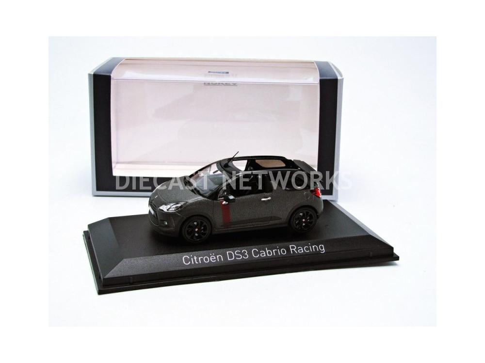 NOREV 155295 Citroen DS 3 2014 Cabriolet Gris Matt 1//43