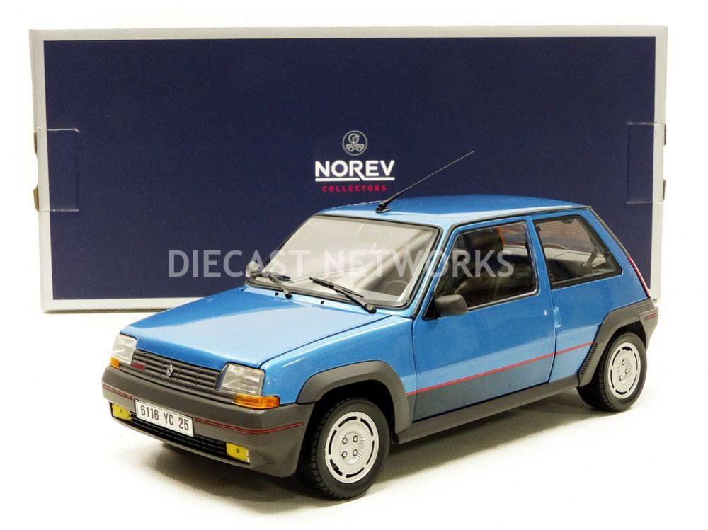 NOREV NOREV NOREV - 1 18 - RENAULT 5 GT TURBO PHASE 1 - 1986 - 185207 fe672d