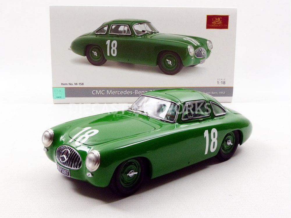 cmc 1 18 mercedes benz 300 sl grand prix de bern 1952 m 158 ebay. Black Bedroom Furniture Sets. Home Design Ideas