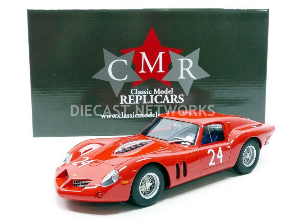 FERRARI 250 GT DROGO - TEST LE MANS 1963