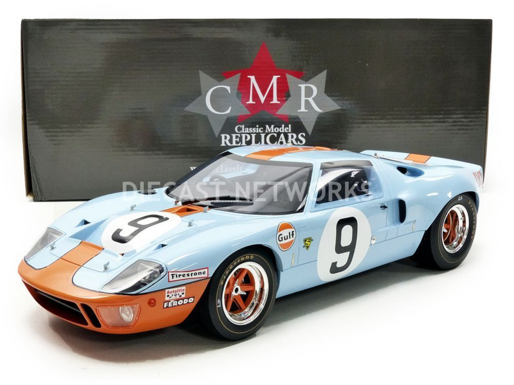 Type Ford Gt  Mk I Gulf Winner Le Mans  Color Bleu Rouge Ean  Rem Lb Ref