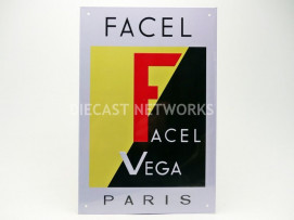 PLAQUE METAL FACEL VEGA