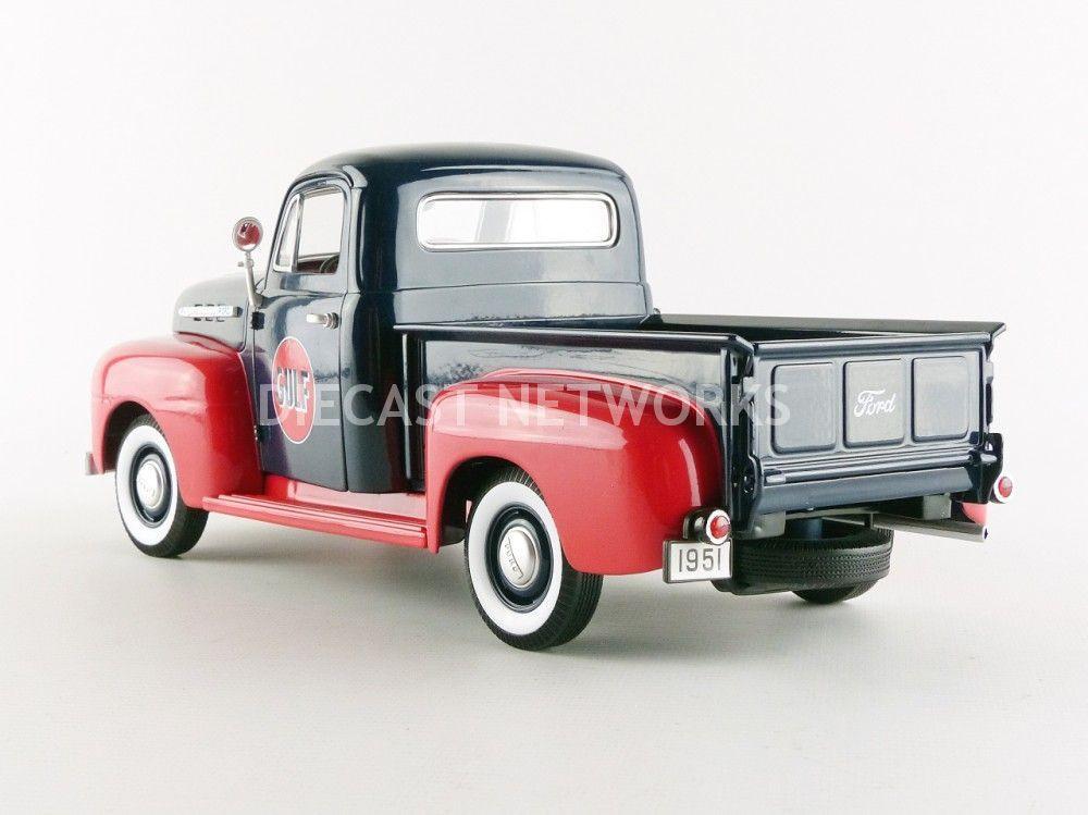 ford f1 pick up gulf 1951 little bolide. Black Bedroom Furniture Sets. Home Design Ideas