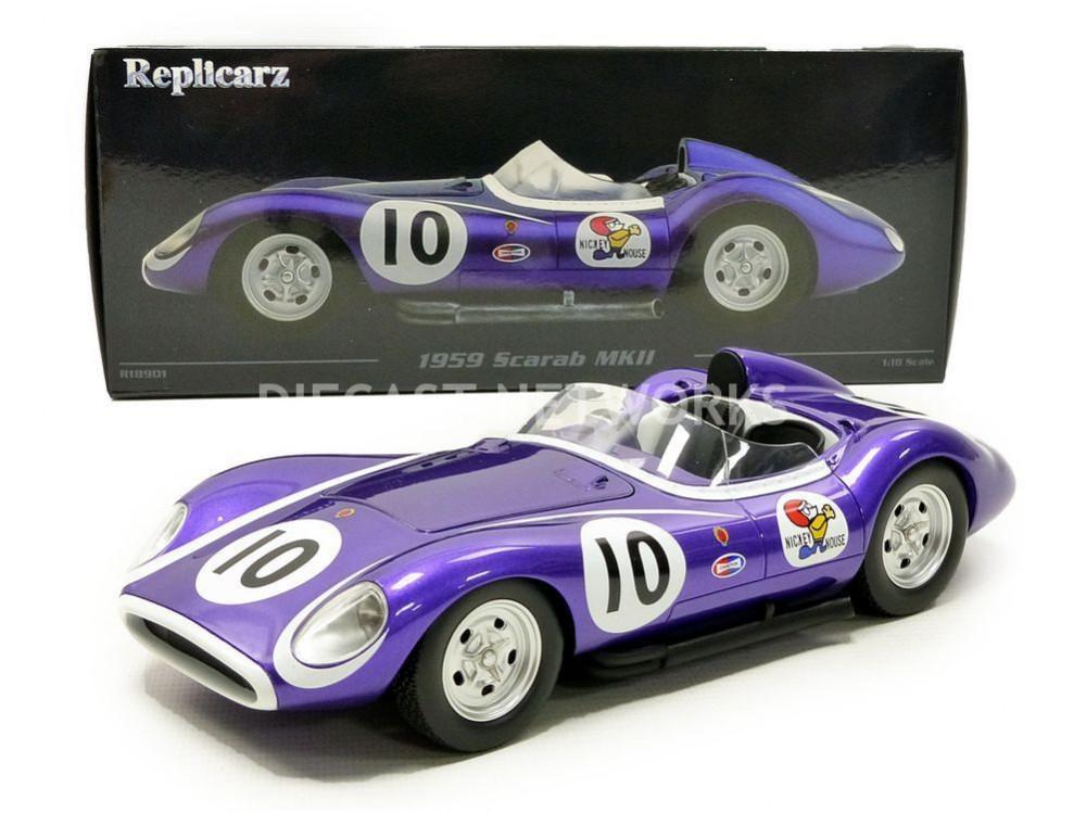 SCARAB MKII - WINNER MEADOWDALE 1959