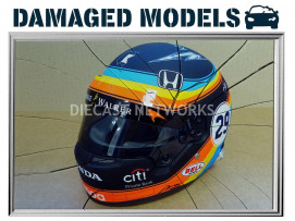 CASQUES F. ALONSO - INDY 500 2017 - MINI HELMET - 70131005