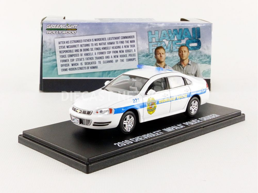 CHEVROLET IMPALA POLICE HONOLULU - HAWAII FIVE0