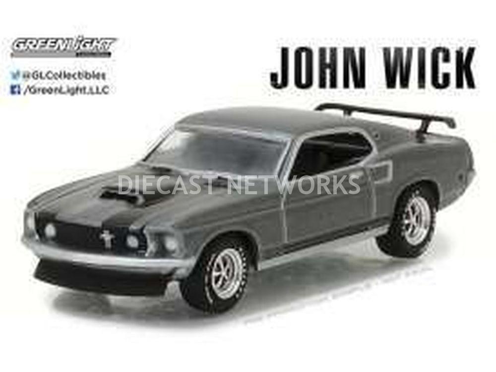 FORD MUSTANG BOSS 429 - JOHN WICK MOVIE 1969
