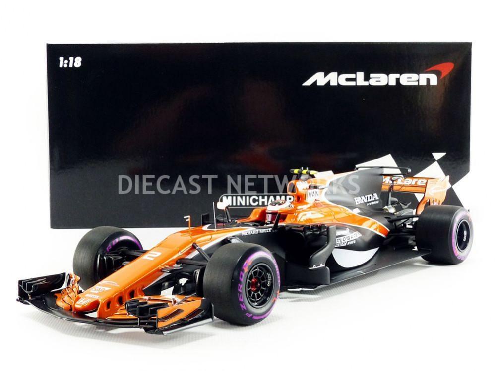 Mclaren F1 Mcl32 Team Honda #2 Australian Gp 2017 Vandoorne SPARK 1:18 18S307 Mo