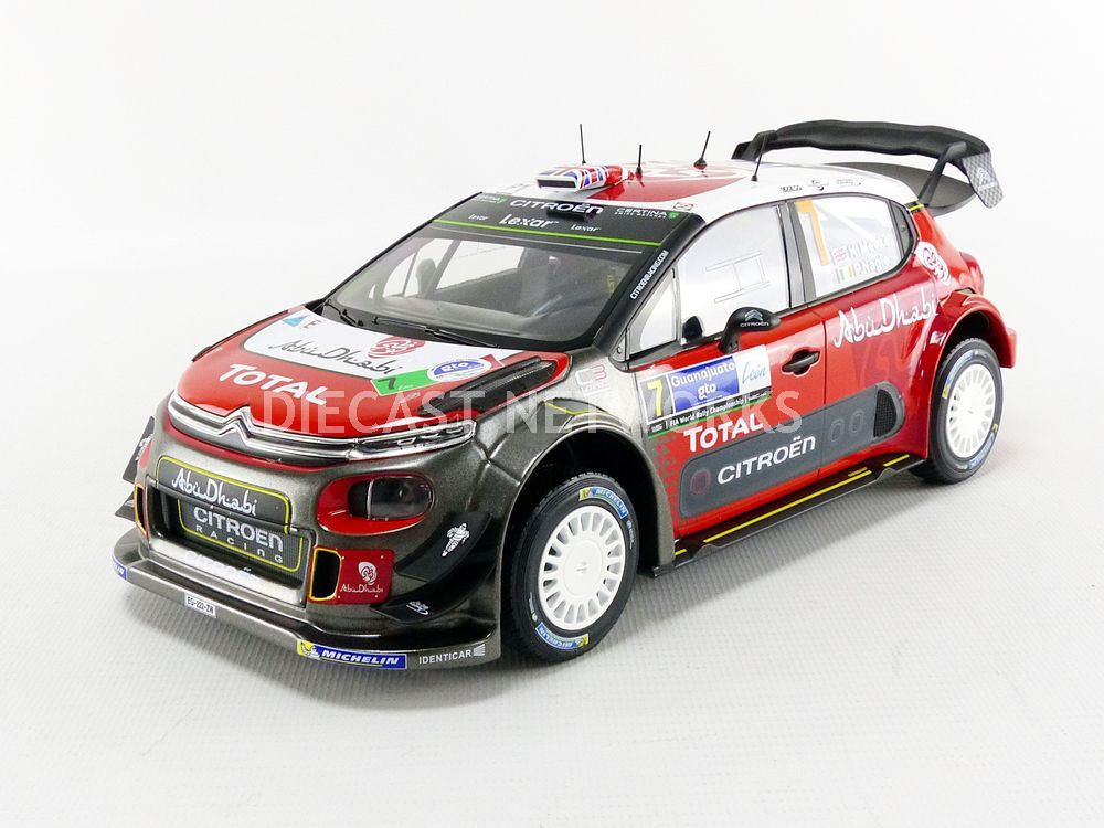 citroen c3 wrc winner mexique 2017 little bolide. Black Bedroom Furniture Sets. Home Design Ideas