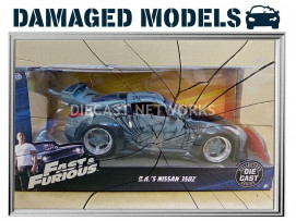 NISSAN 350Z - FAST AND FURIOUS - JADA TOYS - 97172S