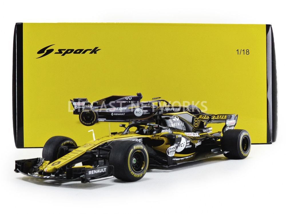 RENAULT SPORT F1 RS18 - CHINE GP 2018