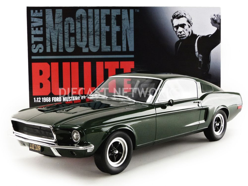 FORD MUSTANG GT 390 BULLITT - STEVE MC-QUEEN