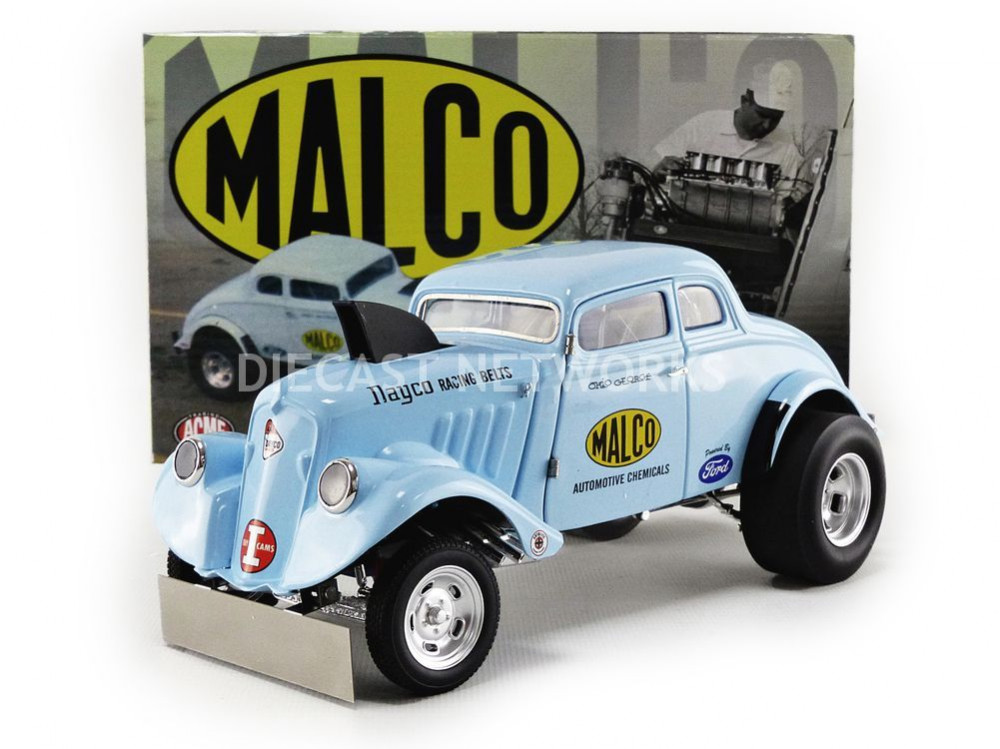 ACME - 1 18 - MALCO GASSER Chopped with Air DAM Front Becquet - 1933 - 1800911