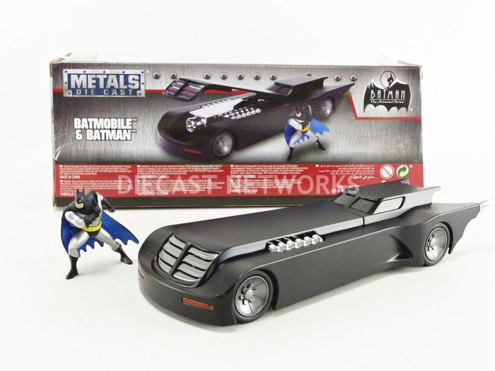 BATMOBILE BATMAN - AMINATED TV SERIES - AVEC FIGURINE