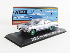 CHEVROLET IMPALA SPORT AGENCE TOUS RISQUES / THE A-TEAM 1967