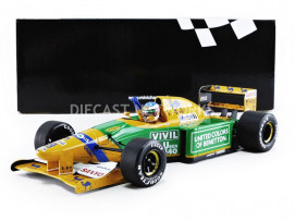 BENETTON FORD B192 - GP ALEMAGNE 1992