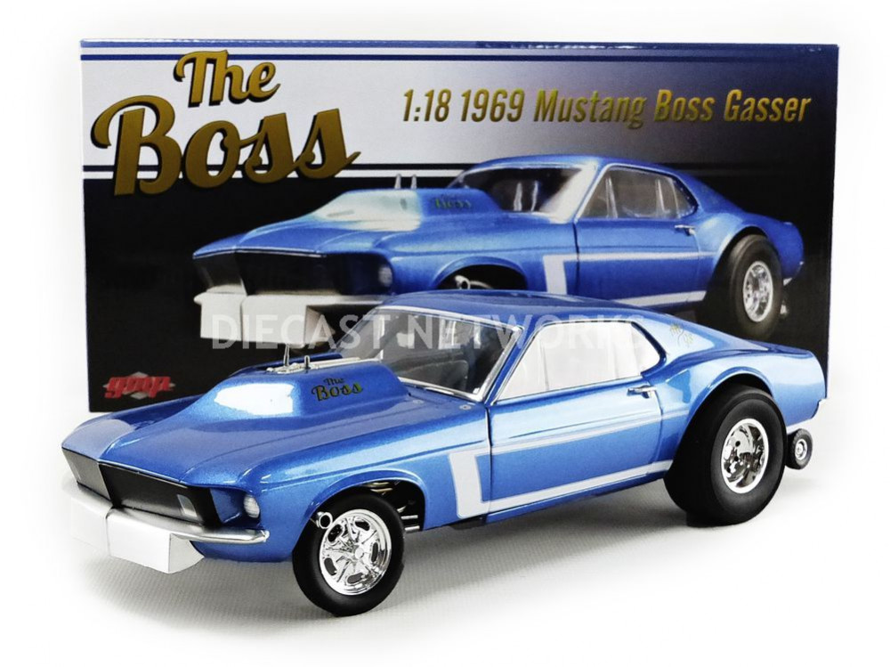 FORD MUSTANG GASSER - THE BOSS