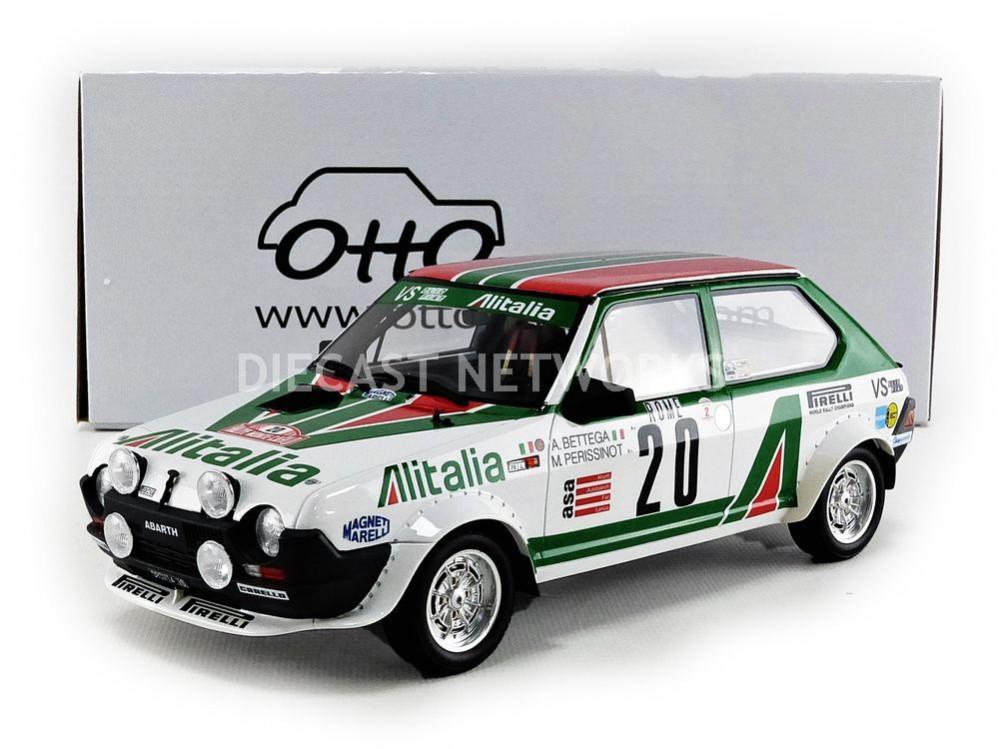 Fiat Ritmo Abarth Rallye Monte Carlo OttO bettega OT294 1//18 OTTO