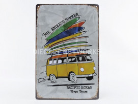 PLAQUE METAL COMBI THE ENDLESS SUMMER